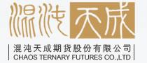 混沌天成期货的徽标logo
